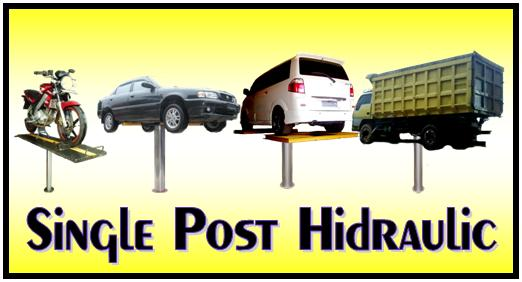 IKAME single post hidrolik mobil dan motor