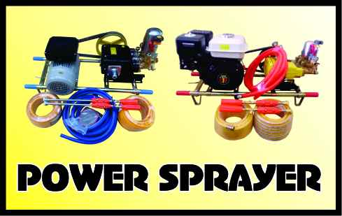 POWER SPRAYER IKAME