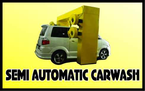 SEMI AUTOMATIC CARWASH IKAME